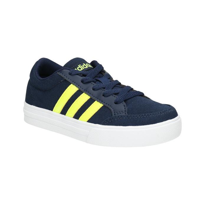 Modré dětské tenisky adidas, modrá, 389-8119 - 13