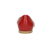 Červené kožené baleríny bata, červená, 524-5604 - 17