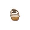 Kožené nazouváky šíře H bata, béžová, 566-4605 - 17
