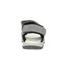 Kožené dětské sandály mini-b, šedá, 463-2602 - 17