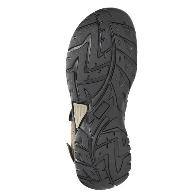 Pánské kožené sandály weinbrenner, hnědá, 866-3630 - 26