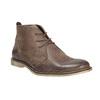 Kožená kotníčková obuv bata, hnědá, 826-4600 - 13