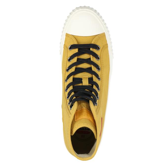 Pánské kotníčkové tenisky bata-bullets, žlutá, 889-8293 - 26