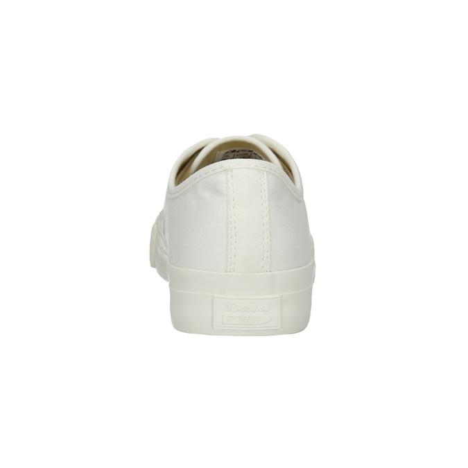 Pánské tenisky s gumovou špicí bata-bullets, bílá, 889-1292 - 17