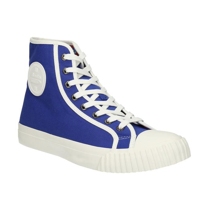 Pánské kotníčkové tenisky modré bata-bullets, modrá, 889-9294 - 13