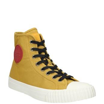 Pánské kotníčkové tenisky bata-bullets, žlutá, 889-8293 - 13