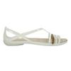 Dámské sandály s překříženými pásky crocs, bílá, 562-1067 - 15