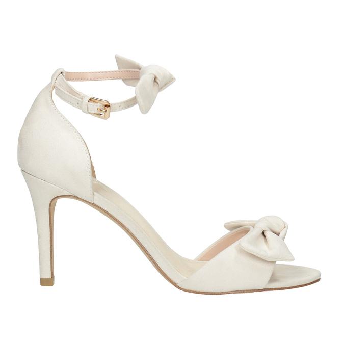 Dámské sandály s mašlí insolia, béžová, 769-1614 - 15