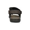 Hnědé pánské sandály z broušené kůže weinbrenner, 866-4631 - 15
