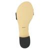 Lakované kožené sandály bata, černá, 568-6606 - 26