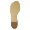 Kožené dámské sandály bata, bílá, 568-1606 - 26