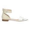Kožené dámské sandály bata, bílá, 568-1606 - 15