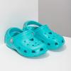 Tyrkysové dětské sandály Clogs coqui, tyrkysová, 372-9605 - 26