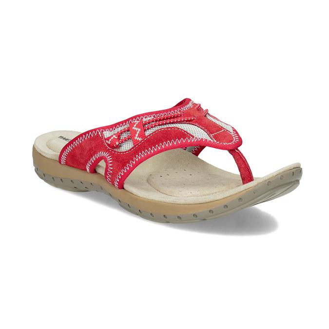 Dámské žabky ve sportovním stylu weinbrenner, červená, 566-5611 - 13