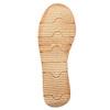 Kožené sandály na výrazné podešvi weinbrenner, hnědá, 566-4627 - 26