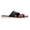 Dámské kožené nazouváky bata, černá, 566-5614 - 15