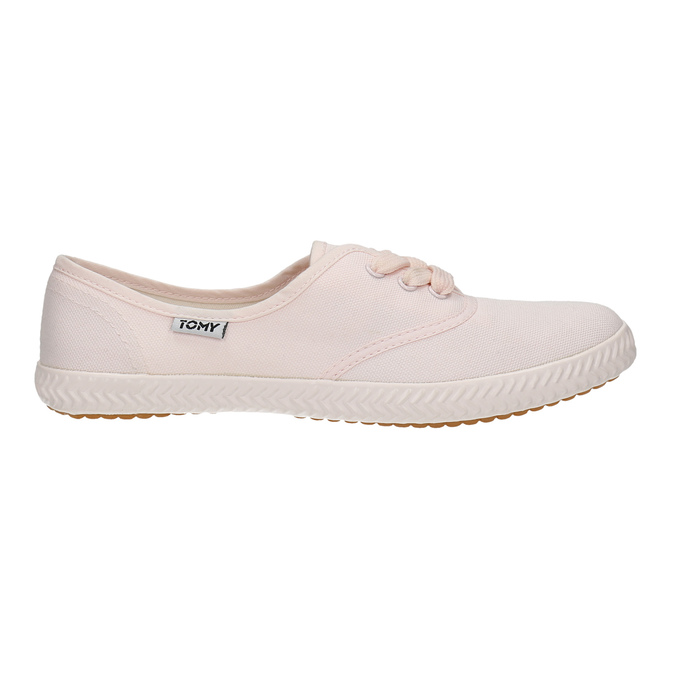 Růžové dámské tenisky tomy-takkies, růžová, 589-5180 - 15