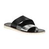 Dámské kožené nazouváky bata, černá, 566-1614 - 13