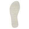 Ležérní kožené sandály bata, bílá, 566-1615 - 26