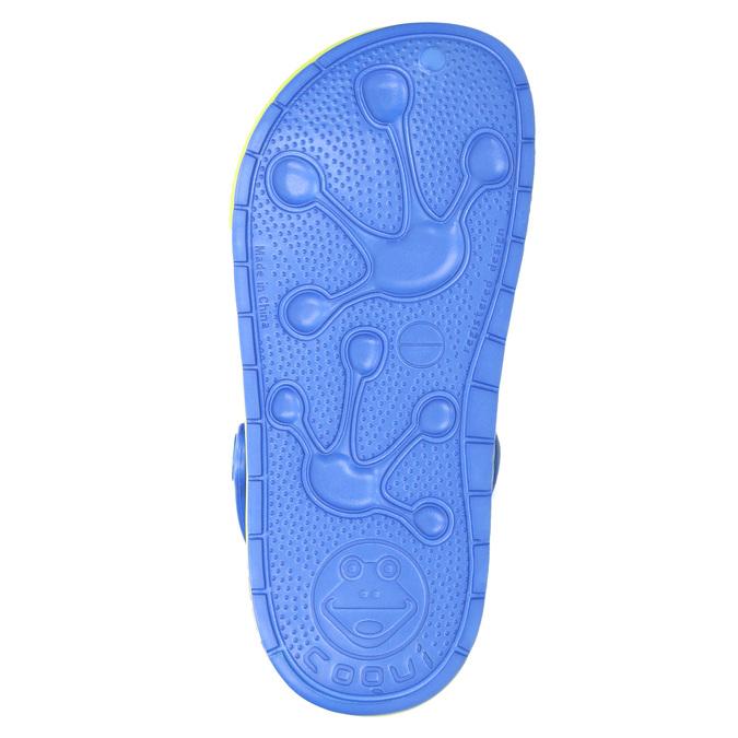 Dětské sandály s žabkou coqui, modrá, 272-9602 - 19