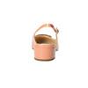 Kožené lodičky s volnou patou hogl, oranžová, 628-8401 - 17
