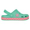Dívčí sandály s žabkou coqui, zelená, 272-7602 - 15
