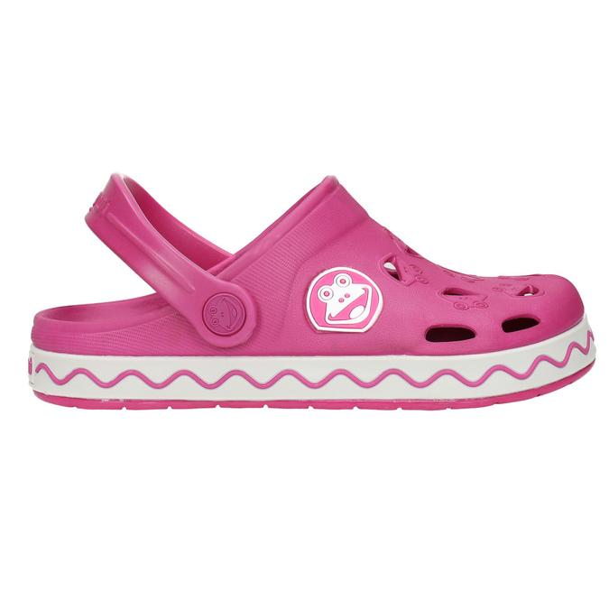Dívčí růžové sandály coqui, růžová, 272-5602 - 15