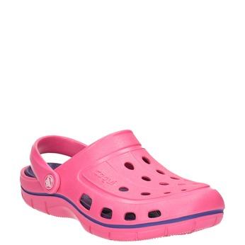 Růžové dámské sandály coqui, růžová, 572-5606 - 13