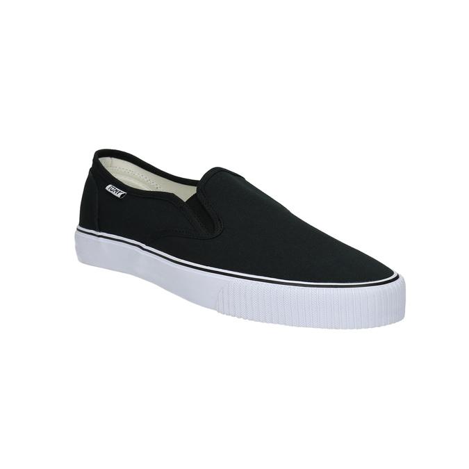 Černé pánské Slip-on tomy-takkies, černá, 889-6229 - 13