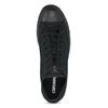 Černé textilní tenisky pánské converse, černá, 889-6279 - 17