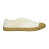 Dámské tenisky s gumovou špicí bata-tennis, bílá, 889-1402 - 15