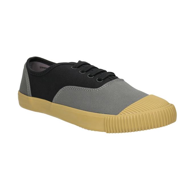 Dámské tenisky s gumovou špicí bata-bullets, černá, 589-6402 - 13