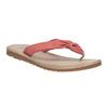 Kožené dámské žabky bata, červená, 566-5607 - 13