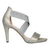 Dámské sandály na podpatku bata, šedá, 761-2614 - 15