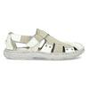 Pánské kožené sandály světlé bata, bílá, 866-1622 - 19