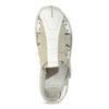 Pánské kožené sandály světlé bata, bílá, 866-1622 - 17