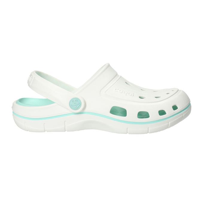 Bílé dámské sandály coqui, bílá, 572-1606 - 15
