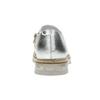 Dámské kožené polobotky stříbrné bata, stříbrná, 536-1600 - 18