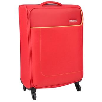 Červený cestovní kufr na kolečkách american-tourister, červená, 969-5172 - 13