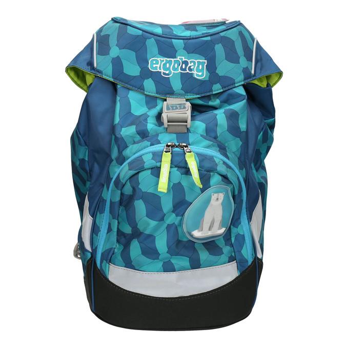 Modrý školní batoh ergobag, modrá, 969-9058 - 26