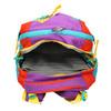 Školní batoh s přezkami satch, tyrkysová, vícebarevné, 969-9062 - 15