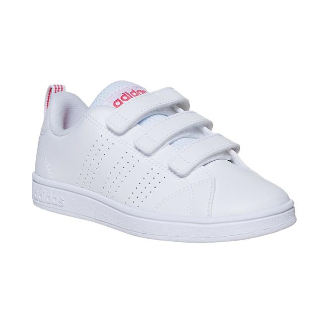 Dívčí tenisky na suché zipy adidas, bílá, 301-1268 - 13