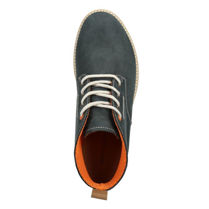 Pánské kožené chukka boots weinbrenner, modrá, 846-9629 - 15