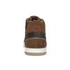 Kožené kotníčkové tenisky bata, hnědá, 846-4640 - 17
