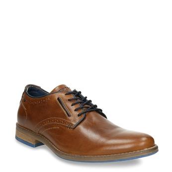 Ležérní kožené polobotky bata, hnědá, 826-3910 - 13