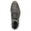 Kožená kotníčková obuv šedá bata, šedá, 826-2912 - 26