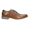 Ležérní kožené polobotky bata, hnědá, 826-3910 - 15