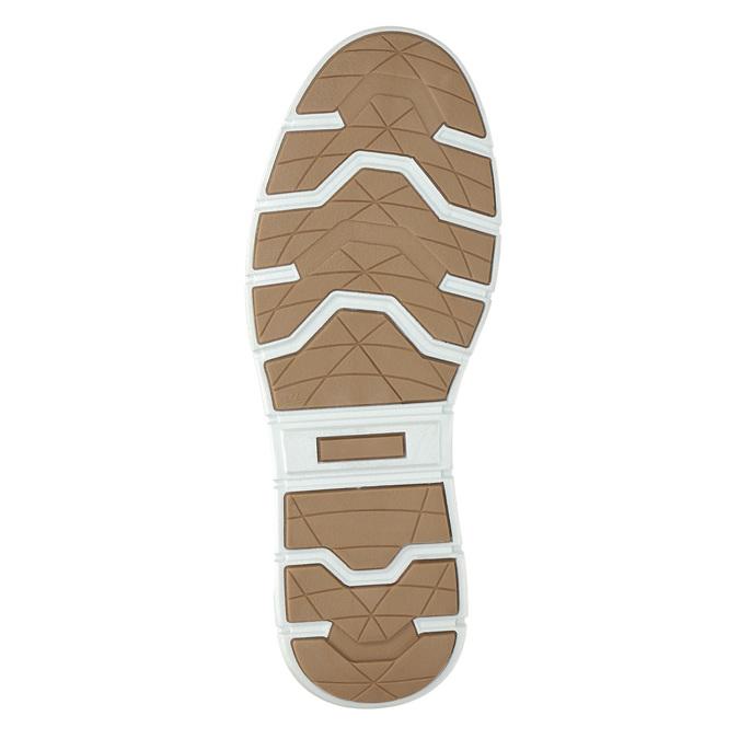 Kotničkové pánské tenisky z kůže bata, černá, 846-6641 - 19