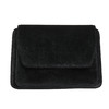 Sametová dámská Crossbody kabelka bata, černá, 969-6662 - 17
