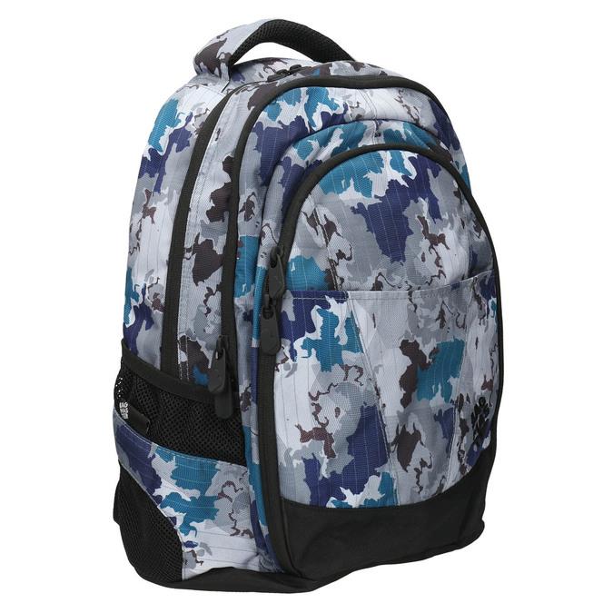 Školní batoh s potiskem bagmaster, šedá, 969-2649 - 13